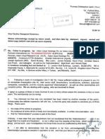 ALPonz (Aston Lloyd Ponzi Scheme) Initial Police Report, 18th October 2010, Tom Cahill, victim of.