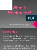 What is Electronics