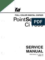 Mita CI7600 Manual