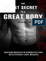The Lost Secret to a Great Body