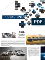 Volkswagen Sales Promotions 265 177 the Plus Moments Folder Fr 14012101