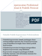 Praktik Keperawatan Profesional Dan Registrasi & Praktik Perawat