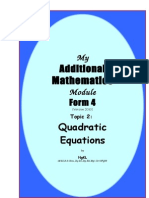 2 Quadratic Eqn