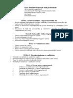 Temele Pentru Examen PSE