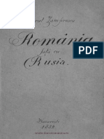 Romania Fata Cu Rusia