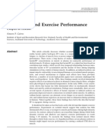 Lactic Acid and Exercise Performance - Culprit or Friend