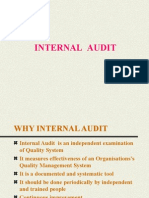 Basics of Internal Audit