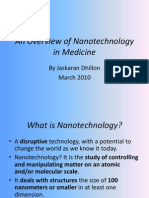 anoverviewofnanotechnologyinmedicine-100401024845-phpapp02