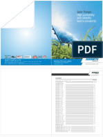 Shakti Solar Pump Technical Catalog