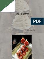 Ricos Postres