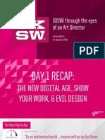 #SXSW14 Through The Eyes of An Art Director