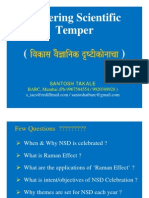 Fostering Scientific Temper by Santosh Takale