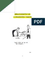bibliografische conventies taken 2011