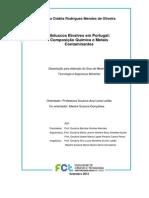Moluscos bivalves em Portugal composição química e contaminantes