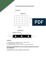 Generator Set Plinth Detail - Fgw p55-1