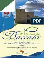 2° Festival del baccalà e dello stoccafisso
