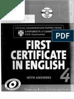 FCE Book Exams