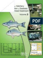 Manual on Hactery Production of Seabass and Gilthead Seabream Vol2