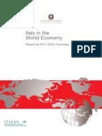 Italy in the World Economy