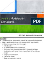 AEI C1A1 Modelación Estructural