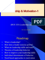 IU BUS 325 ED Leadership and Motivation Ppt 1
