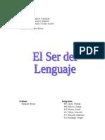 El Ser Del Lenguaje (Katherine)