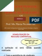 RELAÇÃO DE TRABALHO -  aula 2