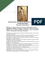 Seminari Cultura Grega 2014