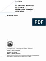 High-Temperature Strength of MgO Refractories,  Report of lnvestigations 8732