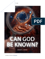 Can God Be Known? by Jesse C. Jones