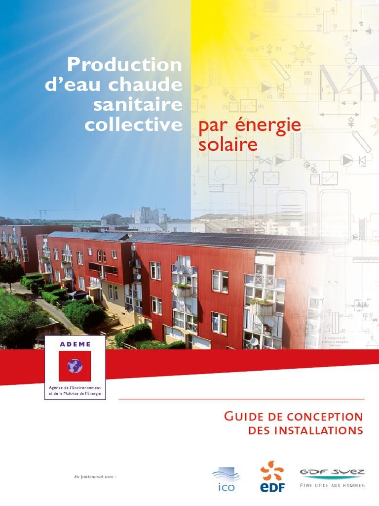 Guide Ecs Solaire 2011 Environnement Naturel Efficacité