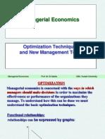 Optimization and Derivatives