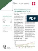 UK Pricing Index 2012