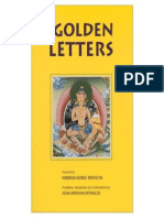 The Golden Letters [Tibetan Buddhism, Meditation]