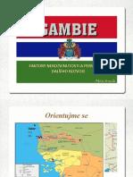 Gambie - faktory nerozvinutosti a perspektivy rozvoje