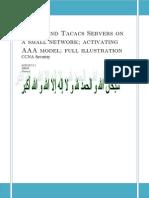 aaa model  radius and tacacs servers lesson full illustration