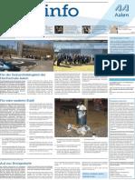 Stadtinfo Aalen - KW 12 - 2014
