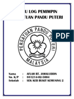 Buku Log Pemimpin Persatuan Pandu Puteri