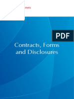 Contracts Forms and Disclosures