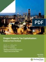 Oregon Property Tax Capitalization report