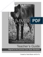 Summer of the Wolves Teacher's Guide