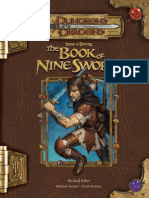 D&D 3.5 Tome Of Battle The Book Of Nine Sword
