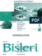 Presentation on Bisleri