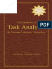 Lawrence Erlbaum Associates the Handbook of Task Analysis for Human Computer Interaction