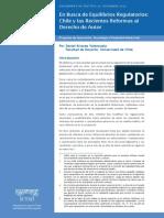 En Busca de Equilibrios Regulatorios Chile y Las Recientes Reformas Al Derecho de Autor