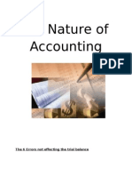 The Nature of Accounting