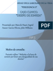 DISEÑO DE SONRISA CASO CLINICO