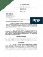 Toyota deferred Prosecution Agreement