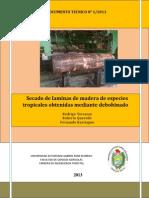 DT 1_2013 Secado de Laminas Rodrigo Terrazas