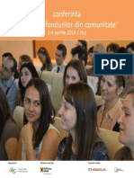 Agenda Conferinta Atragere de Fonduri 2014
